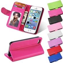 Стенд кожаный бумажник телефона чехол для iPhone 4S PU панель телефона с Photofrem + слот чехол для iPhone 4 5S 6 s коке