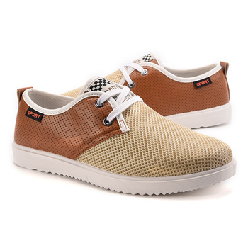 2016 Men Shoe Canvas Shoes Spring Autumn New Mesh Zapatos Hombre Mens Fashion Zapatos Casual Youth Man Slip-on Free Shipping