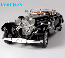 HOT ! 2013 newest ! 1/18  Mercedes-Benz 500K Classic car, classic toys, car model BEST edition,classic antique cars !(China (Mainland))