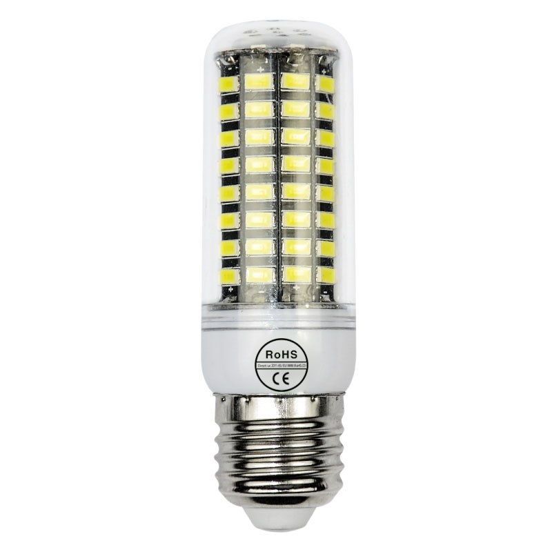 Dimmable 220V SMD 5735 E27 90LEDs LED bulb lamp,SMD5735 Warm white/white 5735SMD long lifespan Corn Bulb Light<br><br>Aliexpress