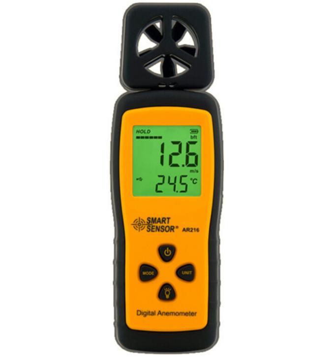Mini Type Anemometer AR216 Air-flow Anemometer Digital Wind Speed Meter Tester<br><br>Aliexpress