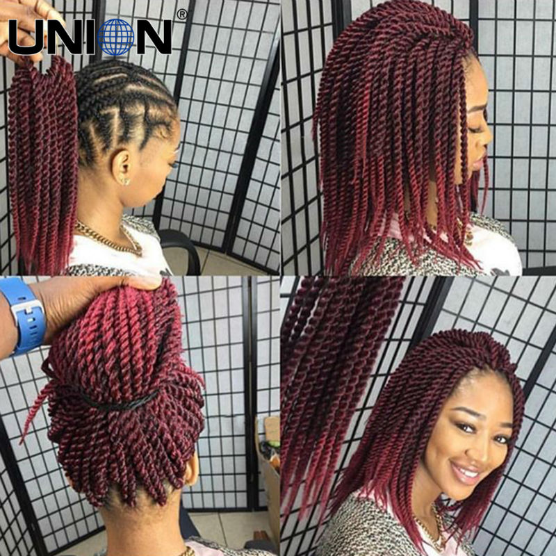 12inch 22roots pack cheapest crochet braid hair senegalese twist 80gram ombre black bug havana - Meche pour tresse africaine pas cher ...