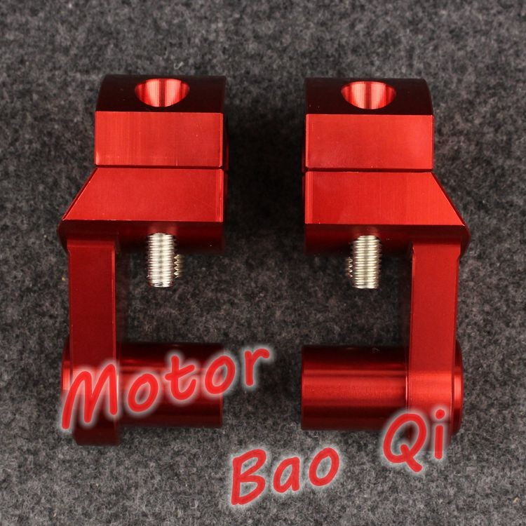 CNC Aluminum Motorcycle Handle bar Clamp Handlebar Riser Adjustable For KTM 950 990 1190 1290 Adventure