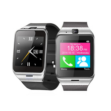 Smart Watch GV18 Android Bluetooth Sport Pedometer Camera Fitness Bracelet Touch Screen Smartwatch Mobile Phone PK GT08 DZ09