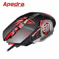 LED Light Gamer Mouse 3200 DPI Wired Optical Gaming Mouse with 6 Buttons for PC