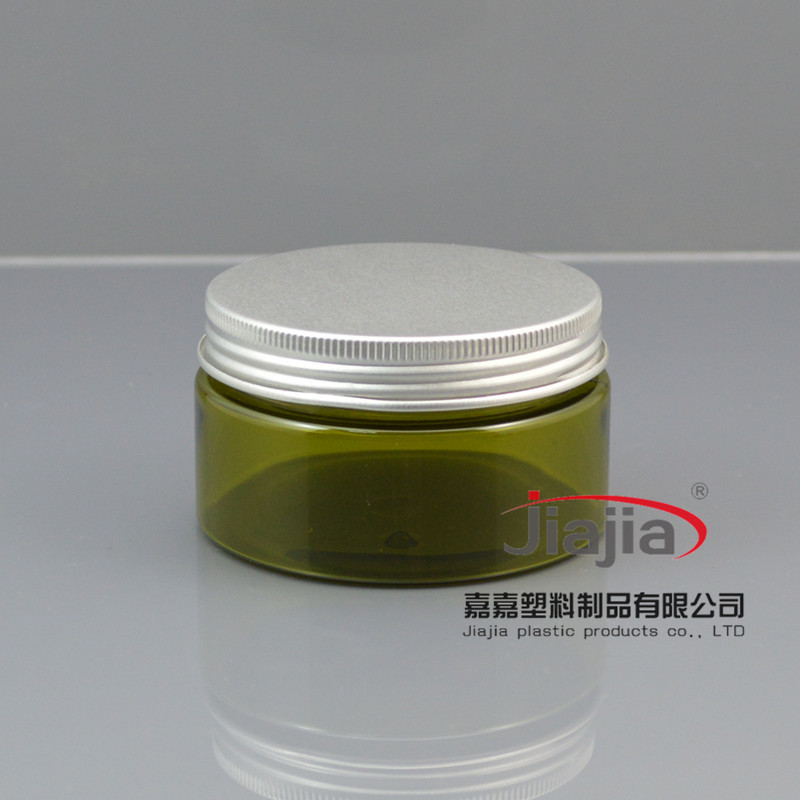buy 100ml Empty cosmetic Container wholesale ,100g Cream Jar for skin care, 50pcs olive green PET 100g Jar for personal care<br><br>Aliexpress