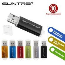 Suntrsi USB Flash Drive Free Ship Pen Drive Really Capacity Pendrive 32/16/8/4GB USB Stick Hot Sale Memoria USB Colourful USB