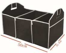 Collapsible Car Trunk Organizer Truck Cargo Portable Tool Folding storage Bag Case Space Saving Auto Car Boot Organiser(China (Mainland))