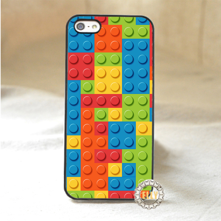 Lego Brick fashion mobile phone case cover for iphone 4 4s 5 5s 5c 6 6 plus 6s 6splus #R118(China (Mainland))