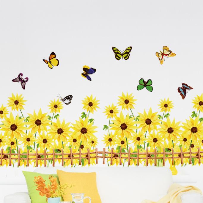 sunflower decals