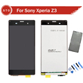 AAA Quality LCD Display touch screen with digitizer Assembly tools Adhesive For Sony Xperia z3 D6603