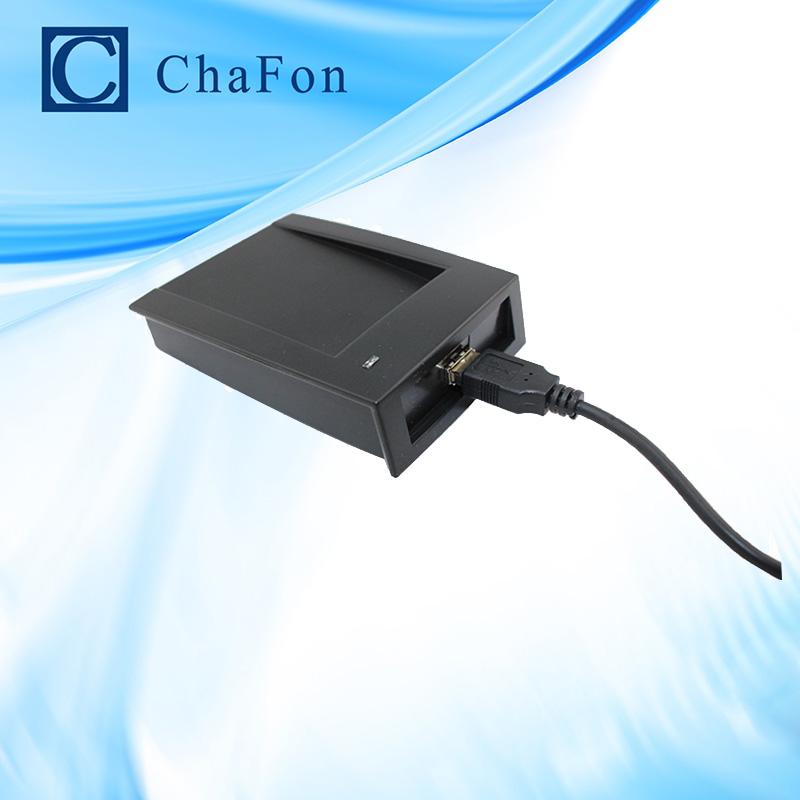125KHz desktop rfid em proximity reader rs232 interface support EM4200,TK4100 Card for Personal identification(China (Mainland))