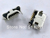 20pcs SMD MICRO MINI USB 5 Pin Female for mobile phone charging power connector