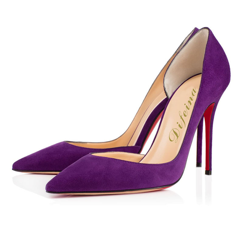 Cheap Purple Heels | Tsaa Heel