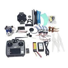 Buy JMT Full Set RC Drone Quadrocopter 4-axis Aircraft Kit 500mm Multi-Rotor Air Frame 6M GPS APM2.8 Flight Control 2-axis Gimbal for $240.29 in AliExpress store