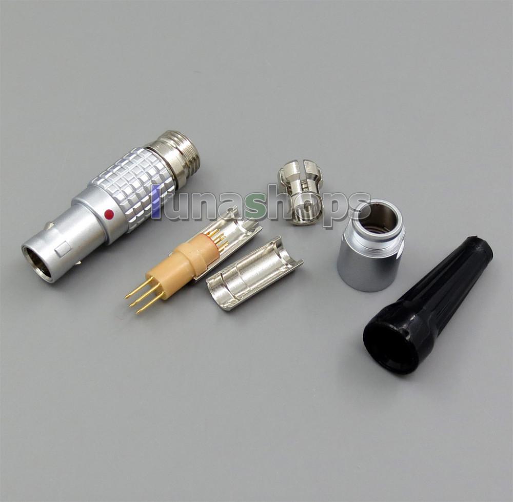 6pins Male Jack Audio DIY Custom Adapter For Shure KSE1500 Earphone Player LN005280