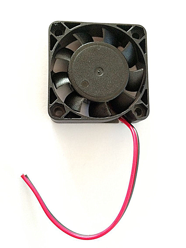 Top Quality 12V 2 Pin 40mm Computer Cooler Small Cooling Fan PC Black F Heat Sink ABS Material Mini Size Fans(China (Mainland))