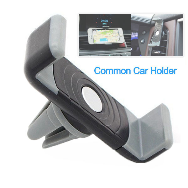 Hot Universal Car Air Vent Mount Bracket Stand Holder 360 Degree Rotation Extendable Phone Holder for iPhone Samsung GPS MP4 PDA(China (Mainland))
