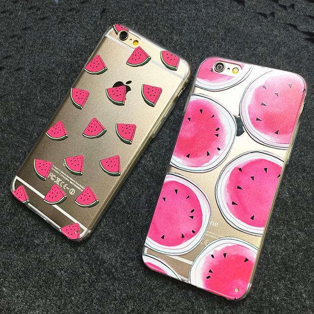 Case iPhone 5/5S/6/6S/6Plus/6SPlus  Fruits różne wzory