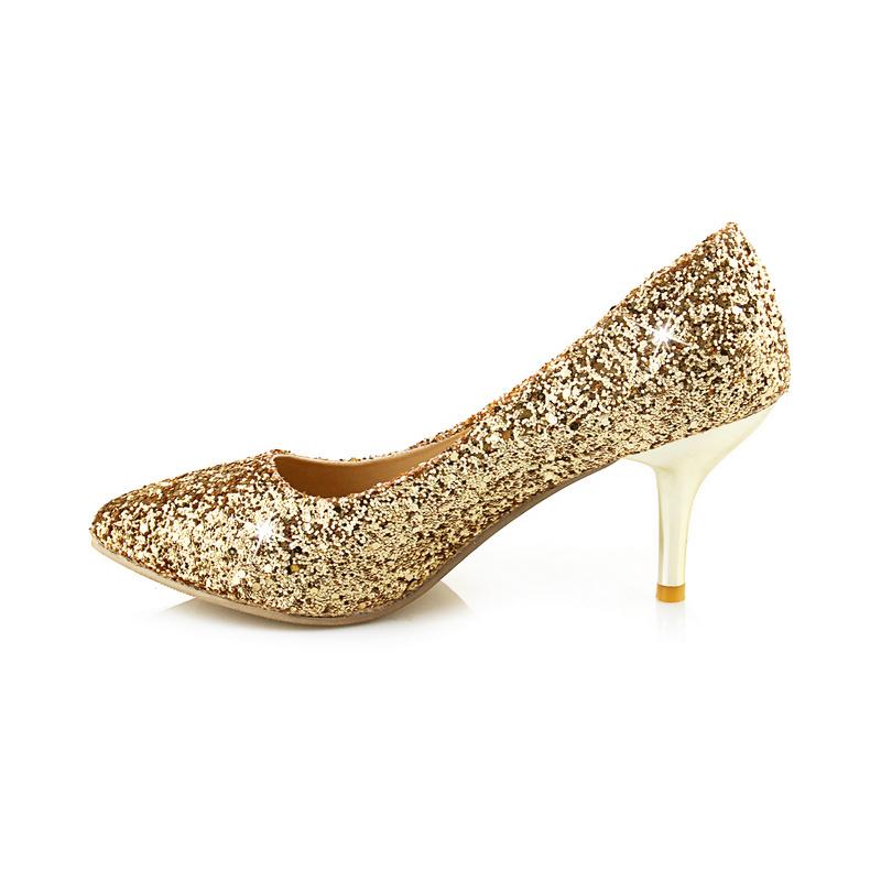 Online Buy Wholesale shiny gold heel from China shiny gold heel ...
