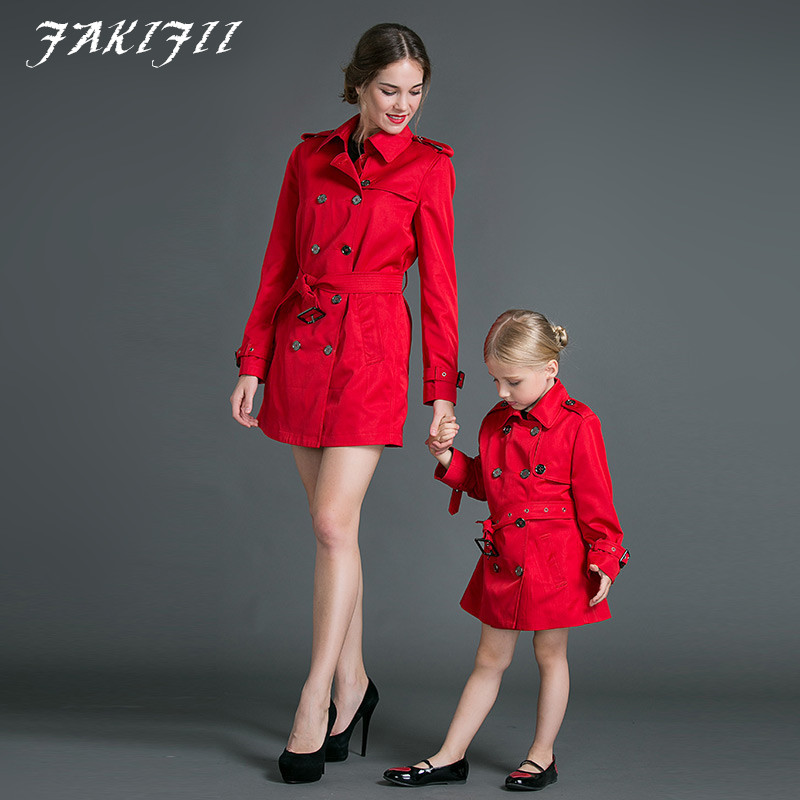 Здесь можно купить  2016 brand Family clothing high class luxury girl coat winter Matching Family Clothing Outfits For Mother Daughter free shipping 2016 brand Family clothing high class luxury girl coat winter Matching Family Clothing Outfits For Mother Daughter free shipping Детские товары