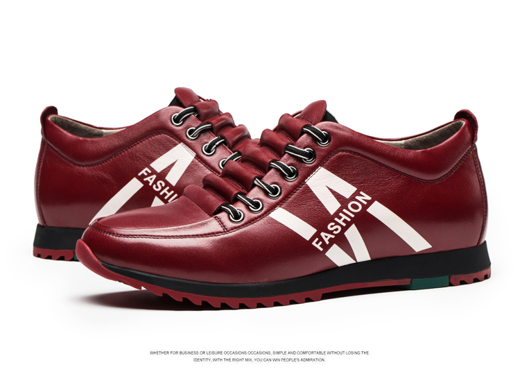 men casual shoes autumn and winter high quality genuine leather lace-up men casual shoes<br><br>Aliexpress