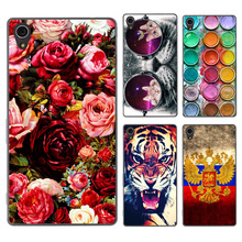 Buy FOR Sony Xperia M4 Aqua Case Cover Hard Plastic Colored Painting Phone Back Cover Case FOR Sony M4 Aqua Dual E2303 E2333 E2353 for $1.20 in AliExpress store