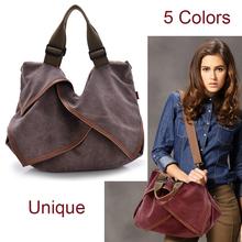 High Quality Big Women Canvas Handbag Shoulder Bags Stylish Casual Women Bag for Travel Lady Crossbody