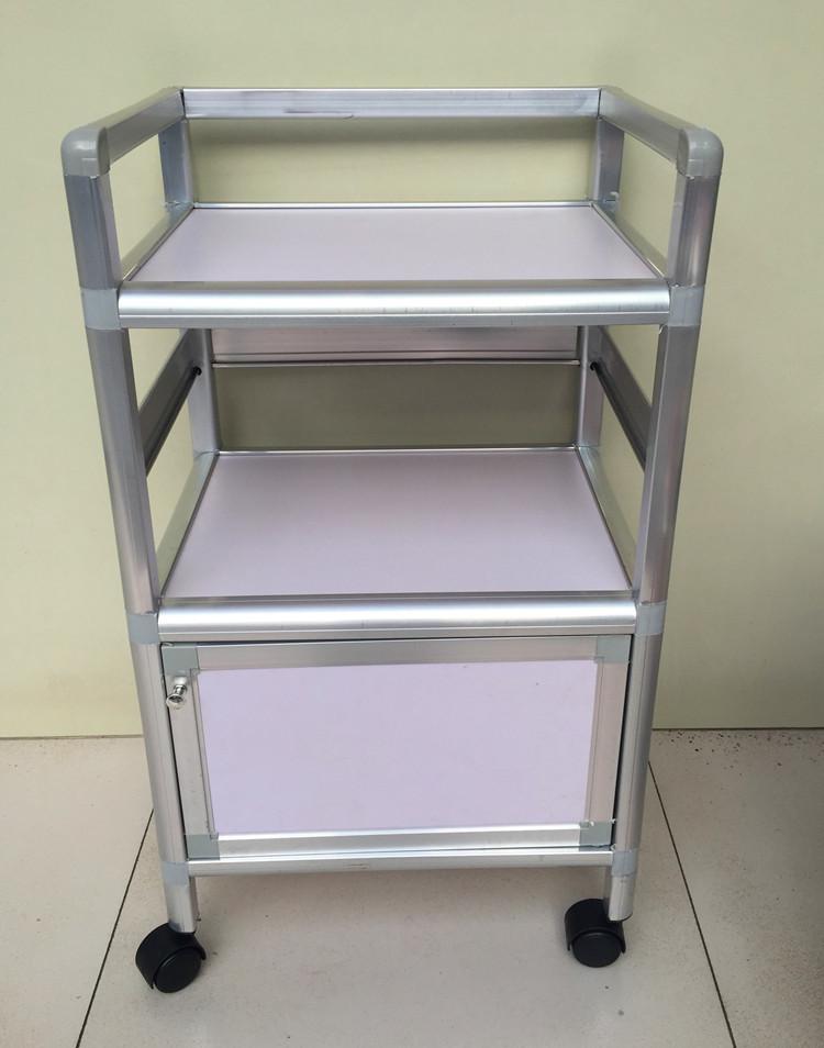 Special single door nail beauty tool cart small car trolley three cupboard(China (Mainland))