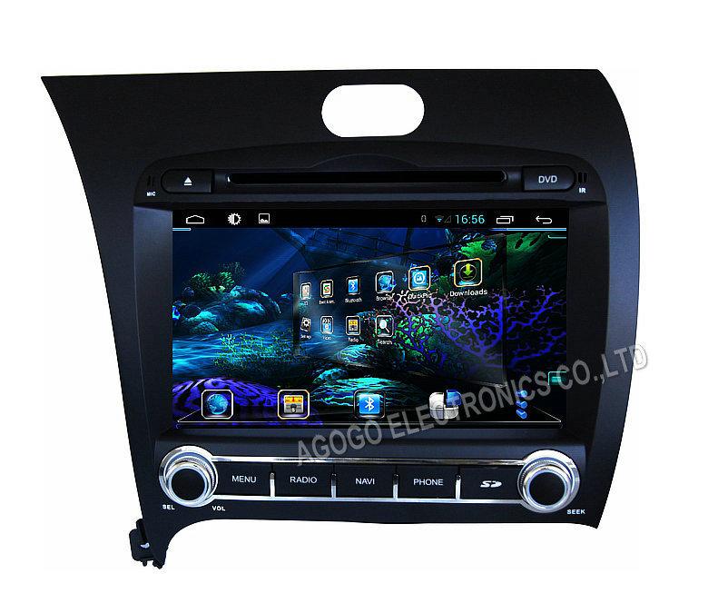 FOR KIA K3 FORTE CERATO 2013 android 4 4 car audio Multimedia device car dvd gps