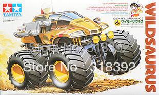 Tamiya 17006 1/32 Wild Mini 4WD Series No.6 Wild Saurus Junior kit 1:32 Self-assembly plastic car free shipping wholesal boy toy