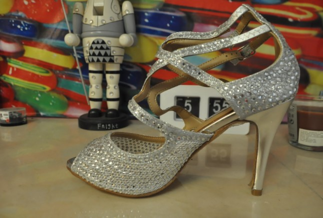 actual shoes! fashionville* f078 34/40/41 genuine leather rhinestone heels sandals <br><br>Aliexpress