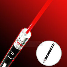 Wholesale Powerful 650nm 5mw Light Beam Red Laser Pointer Pen caneta laser(China (Mainland))