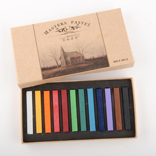 2015 New 12pcs Temporary Hair Chalks Color Chalks 12 Colors Salon Kit Drawing Chalks(China (Mainland))