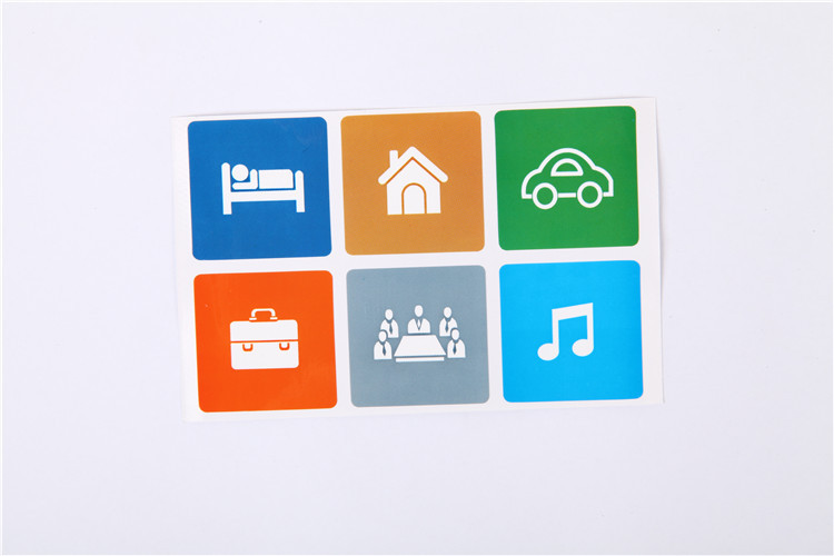 6pcs Universal Smart NFC Tags Sticker Ntag213 for Sony Samsung Note3 Galaxy S4 Lumia920 Nexus4/10 BlackBerry HTC free shipping