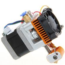 Geeetech 12V Fan 3D Printer head Makerbot 0.3mm nozzle 3.0 filament MK8 Extruder 3D Printer single exturder Free Shipping(China (Mainland))