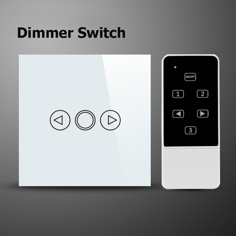 smart home wall light dimmer wifi switch 220v eu wireless remote dimmer switch compatible. Black Bedroom Furniture Sets. Home Design Ideas