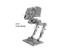 AT-ST STAR WARS model laser cutting 3D puzzle DIY metalic spacecraft jigsaw free shipping Star war model birthday gifts