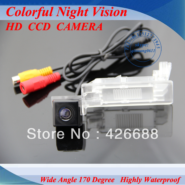 CCD Car rear view camera car parking camera For VW Passat Sagitar Touareg Lavida Gran Lavida 2013 HD CCD night vision car camera(China (Mainland))