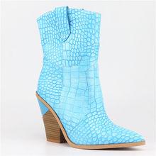 MORAZORA 2019 Neue Marke frauen stiefel spitz keile schuhe herbst winter stiefel kurze damen Westlichen knöchel stiefel für frauen(China)