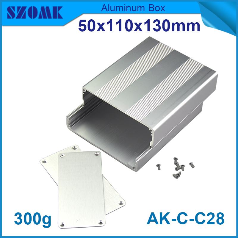 4 pieces diy aluminum enclosure explosion proof junction box 50*110*130mm small electronic enclosure(China (Mainland))