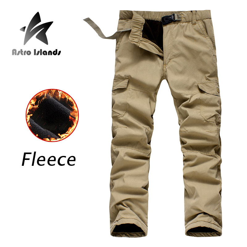 2016 Summer Brand Mens Fleece Pants Warm Cotton Military Uniform Camouflage Trouser Widen Army Mens Cargo Pants Hommes AR024(China (Mainland))