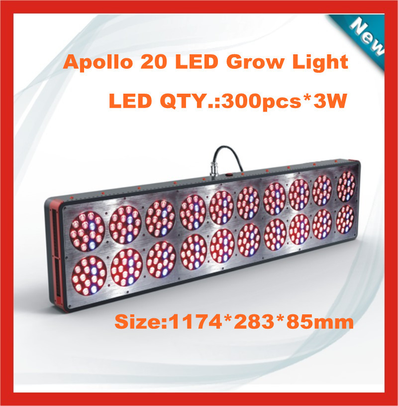 300*3W Apollo 20 LED grow light for Agriculture Greenhouse, hydro, agriculture medical plant(China (Mainland))