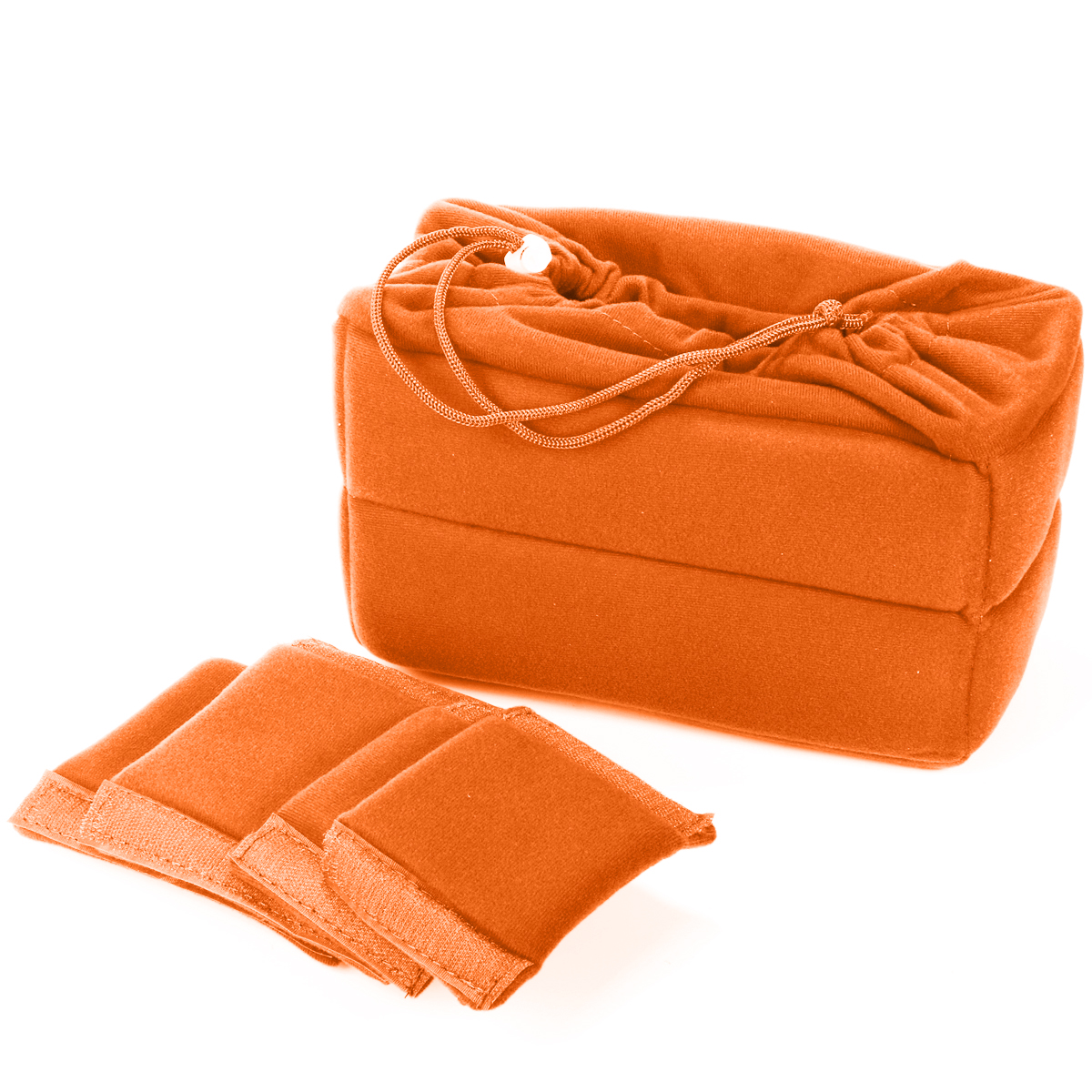 High Quality Professional Photographer Flexible Camera Insert Bag Partition Padded Case for Nikon DSLR SLR Orange LF676(China (Mainland))