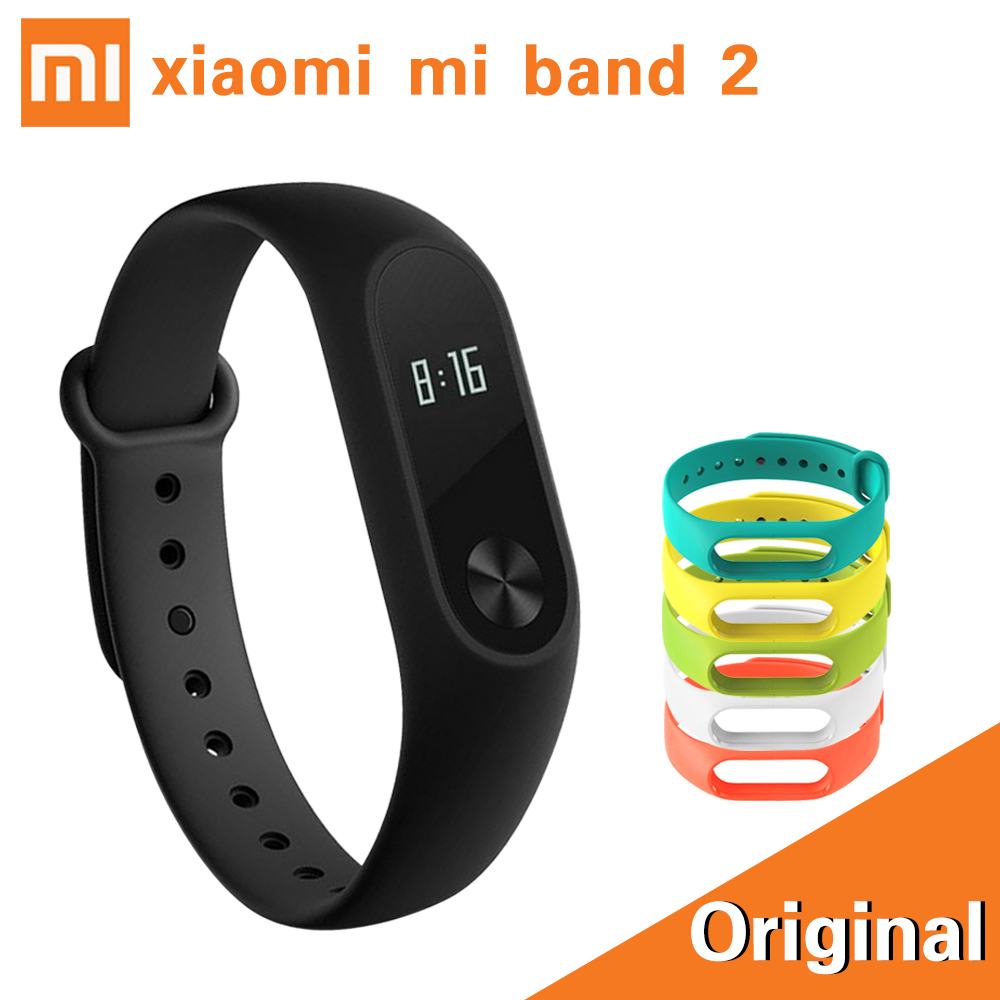 stock xiaomi mi band 2 smart bracelet heart rate pulse. Black Bedroom Furniture Sets. Home Design Ideas