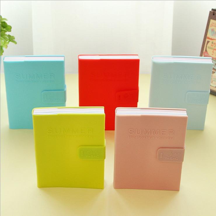 Summer Jelly Cute Diary Pocket Weekly Planner Journal School Study Notebook Korean Agenda Notepad Memo Girls Gift<br><br>Aliexpress