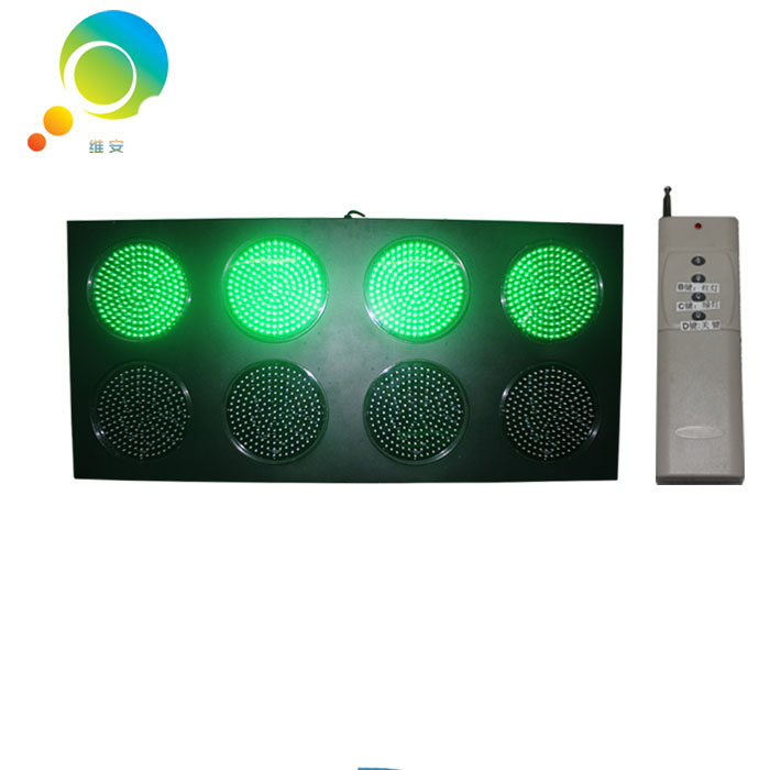 Hot selling 300mm playground LED signal light red green full ball remote control traffic lights(China (Mainland))