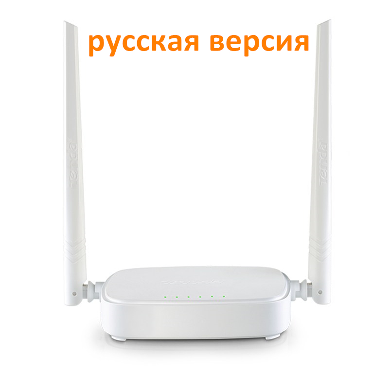Russian Version Tenda Router Wireless N301 Wi-fi Router 300Mbps 802.11 b/g/n/3/3u Signal Booster 4 Ports Router(China (Mainland))
