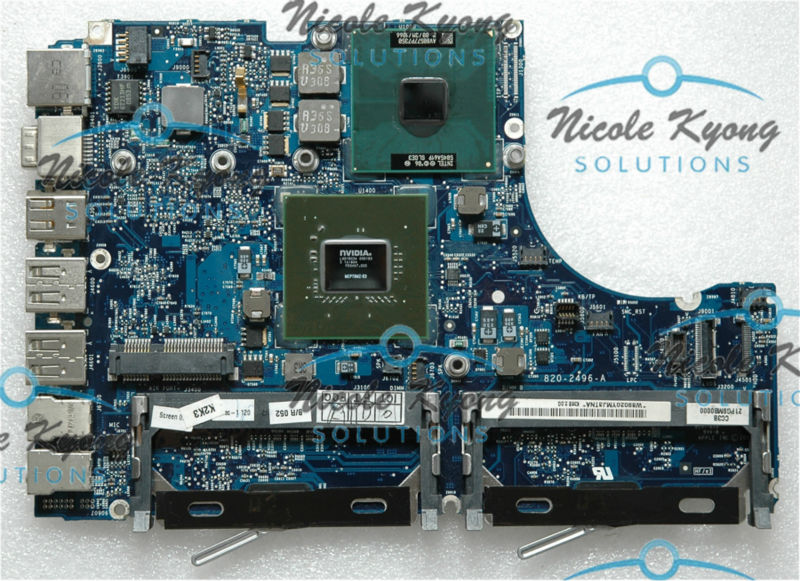 "13.3"" A1181 820-2496-A 661-5033 MB881LL 639-0197 P7350 2.0GHz non-integrated motherboard Logic Board for MACbook A1181(China (Mainland))"