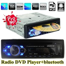 new Car radio DVD VCD CD MP3 bluetooth auto car audio Stereo bluetooth Player Phone AUX-IN FM USB 1 Din 5V charger in dash 12V(China (Mainland))